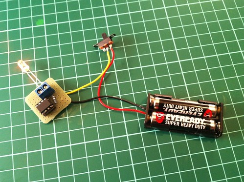 Flickering LED Circuit
