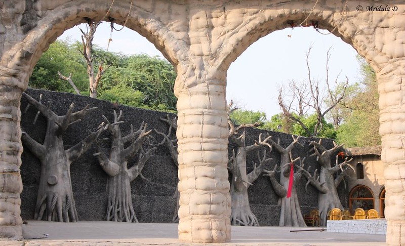 Arches and Structures at the Phase 3, Rock Garden, Chandigarh, India