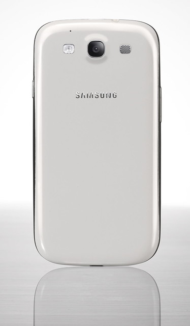 Samsung Galaxy SIII - Marble White (Back)