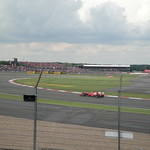 One of the Ferraris - British Grand Prix 2011