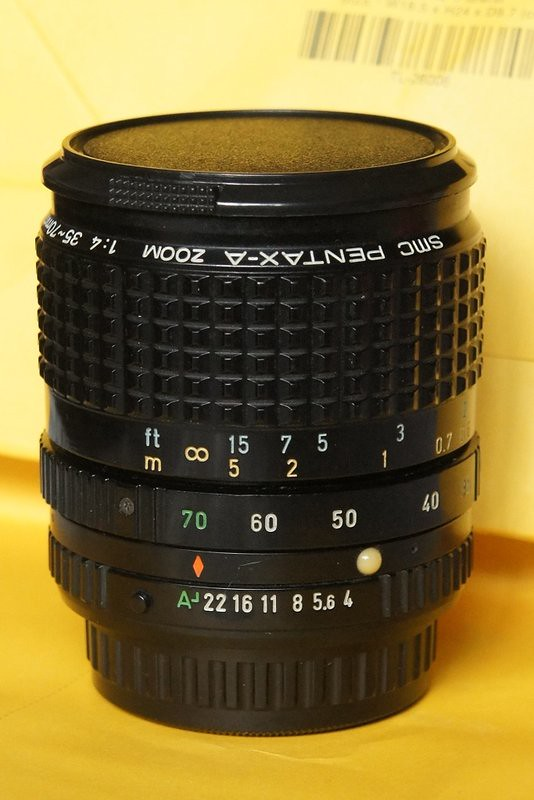 SMC PENTAX-A ZOOM 1:4 35~70mm