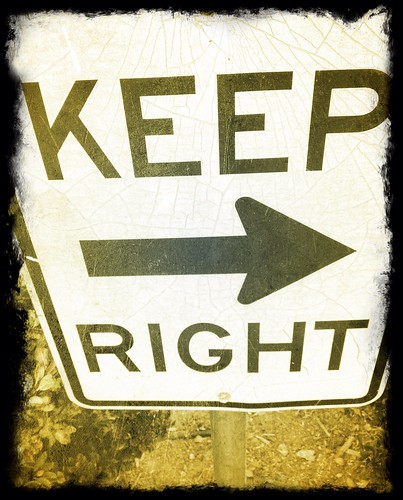Keep Right by Damian Gadal