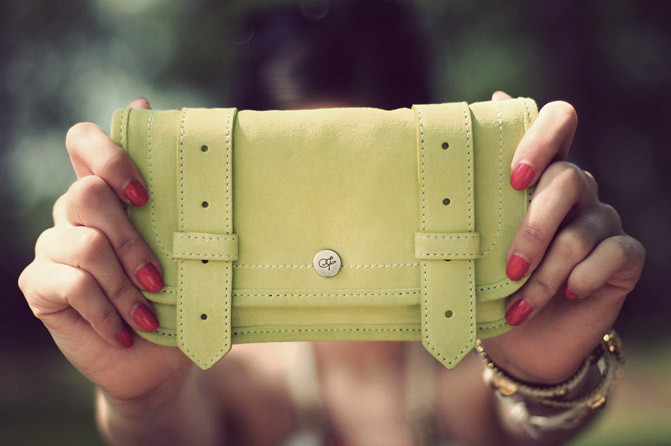 Proenza Schouler PS1 Suede Wallet, Fashion Giveaway