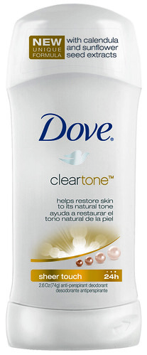 Dove Clear Tone Sheer Touch