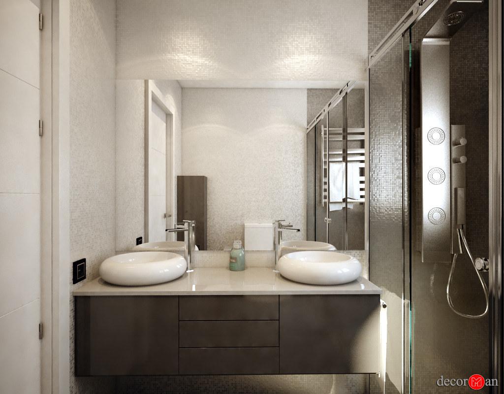 Diseño 3d De Baños Porcelanosa Reformas Decorman Diseño D Flickr