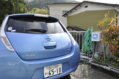谷川温泉 旅館たにがわ EV普通充電設備