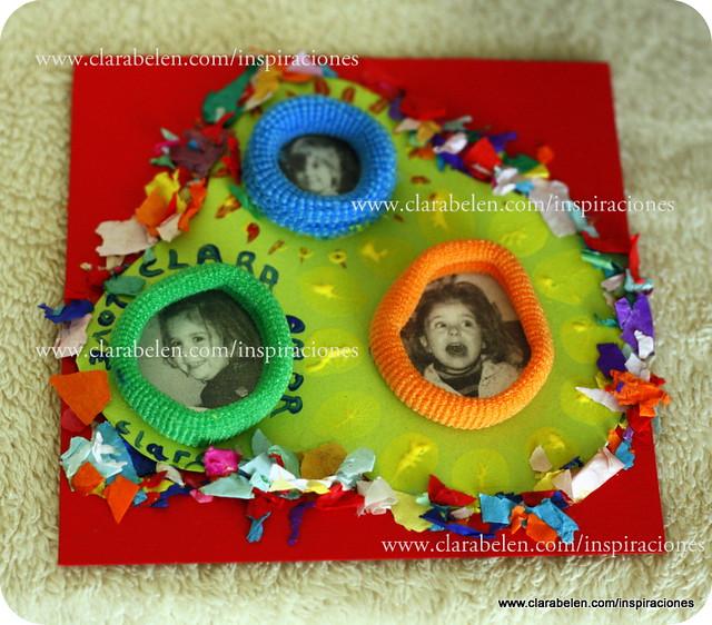 Inspiraciones manualidades y reciclaje lbum de fotos - Decorar album de fotos ...