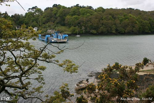 King Harry Passage, River Fal by Stocker Images