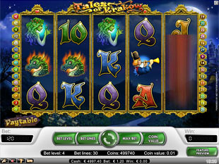 Tales of Krakow slot game online review