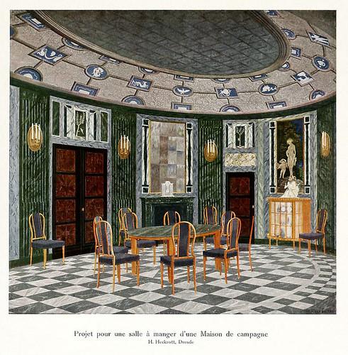 006-120 intérieurs en couleurs…-Principios siglo XX