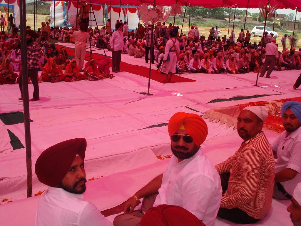 Punjab BJP Leader Sukhminderpal Singh Grewal in the marria