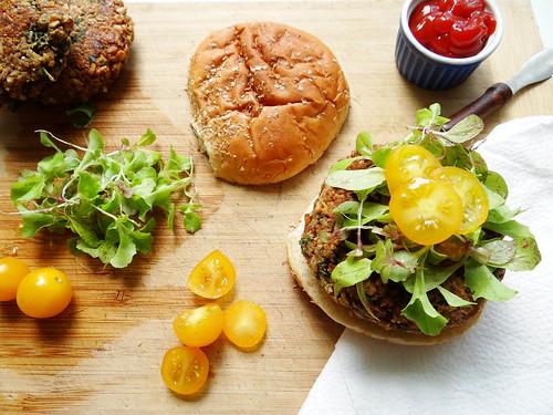 classic veggie burger