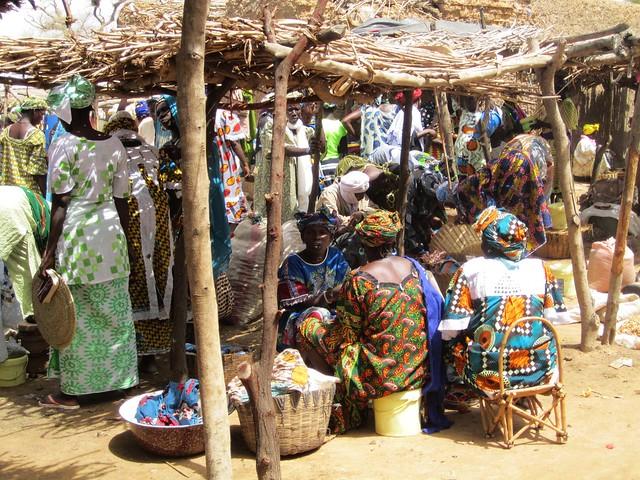 Vendedoras del mercado.