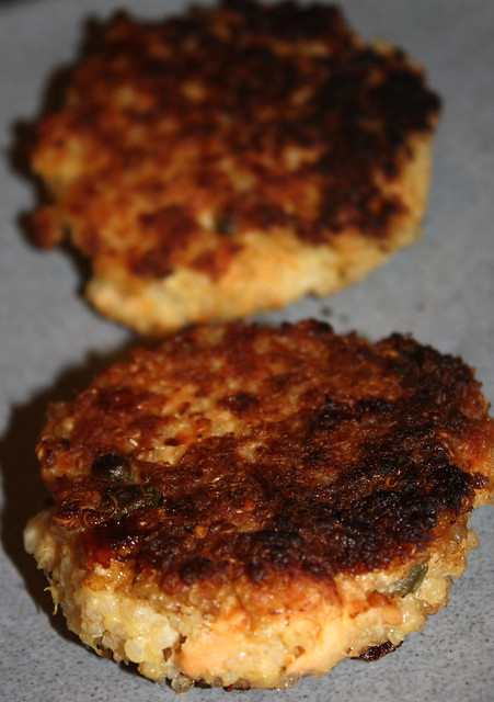 Smoked Salmon Quinoa Patties