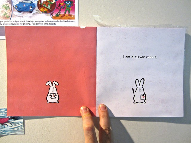 I am a rabbit / Nika Matsumoto (BCBF 2012). 7