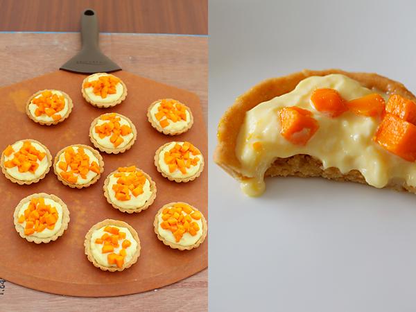 how to make mini custard tarts
