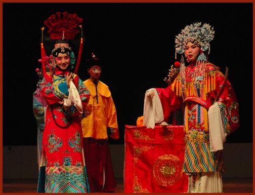 A Still Image from the Peking Opera