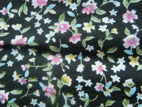 My fave floral fabric!