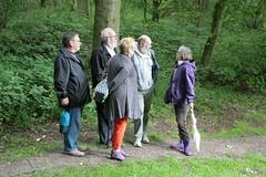 Archäologisch-botanische Führung mit Dr. Helmut Kroll. Oben auf der Hochburg, neben der Freilichtbühne - Wikinger Museum Haithabu WHH 17-06-2012