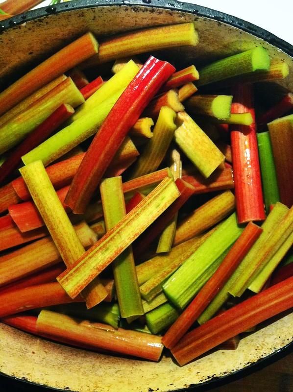 Pickled Rhubarb Recipe Rhubarb
