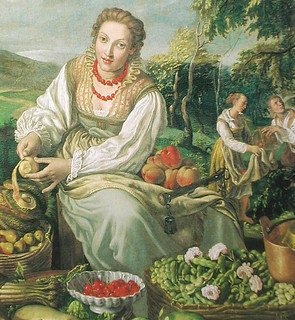 Vicenzo Campi: The Fruit Seller, 1580's Private collection