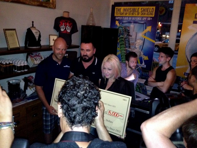 Cyndi Lauper and Kiehl's