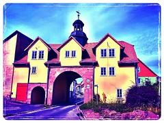 The #city gate of Berka/Werra #today.