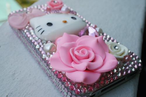 Crystal Hello Kitty iPhone case