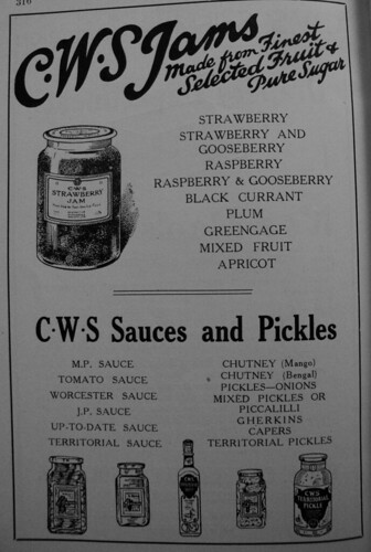cws sauces & pickles