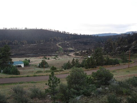 High Park Fire, Colorado