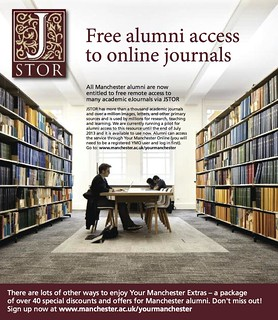 Free alumni access to online journals by JSTOR wouldn't be needed if they were published Open Access in the first place