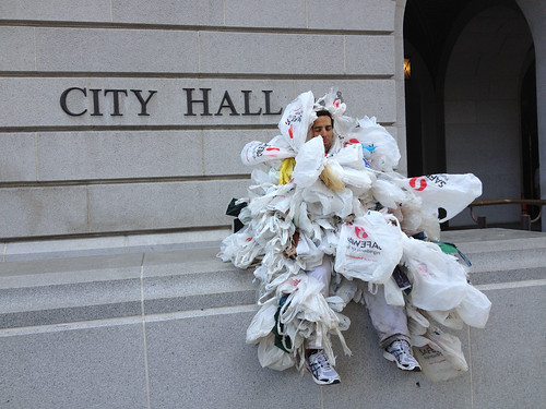 Plastic Bag Industry Campaigning to Overturn California's