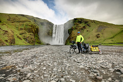 Bicycle around Iceland