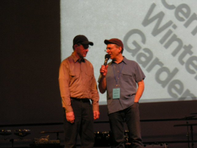 Michael Gordon Composer Steve Reich And Michael Gordon