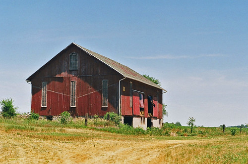 The barn on Sycamore Hill