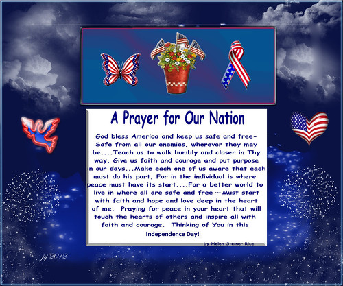 A PRAYER FOR OUR NATION BY HELEN STEINER RICE