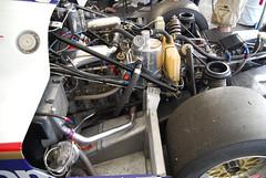 956 engine/supension, from left (port) side