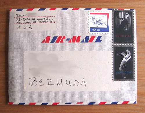 Wessel envo-letter airmail aerogramme