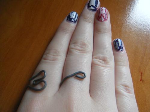 Teenie tiny heart ring!