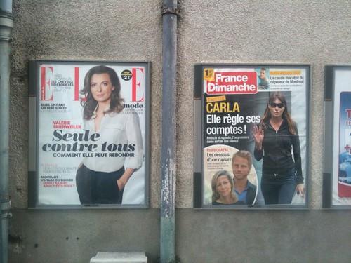 La montée et la chute des First Ladies françaises