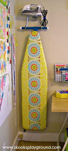 Pop Daisy Ironing Board