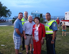 Thank you to Supervisor Howard Phillips and the members of the Haverstraw Police Department for your great work for the people of Haverstraw.