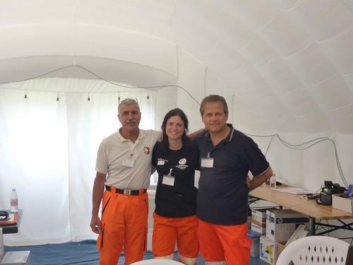 Campo Novi di Modena: Nello, Silvia e Enzo