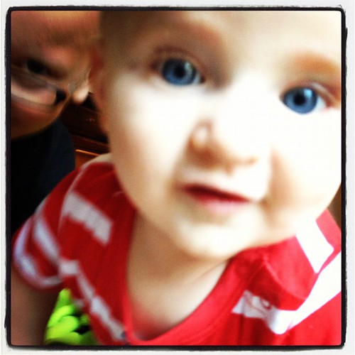 July photo a day: Day 5:floor. On the floor with my super cute nephew Jack!!