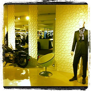 Fashionstore in the Netherlands. Check for more http://www.3d-wallpanels.com
