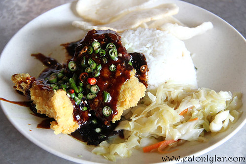 Nasi Ikan Cili Padi, The Warung