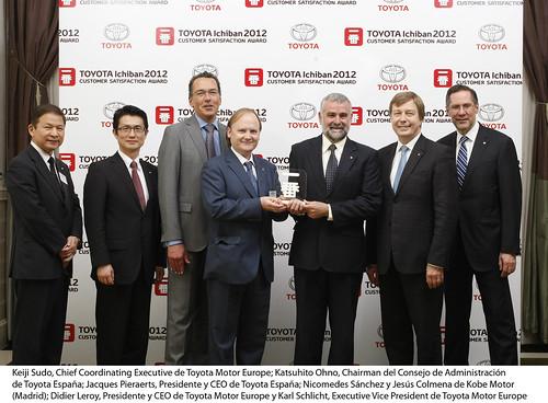 Entrega del Premio Ichiban 2012
