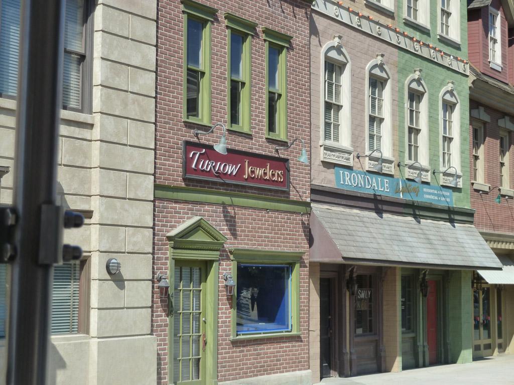 Universal studios tour Улицы города в любом стиле 2