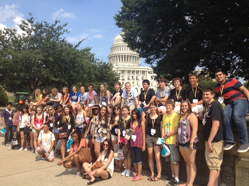 NSLC LAWA Visits the Capitol
