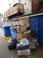High Street, Leamington Spa - rubbish